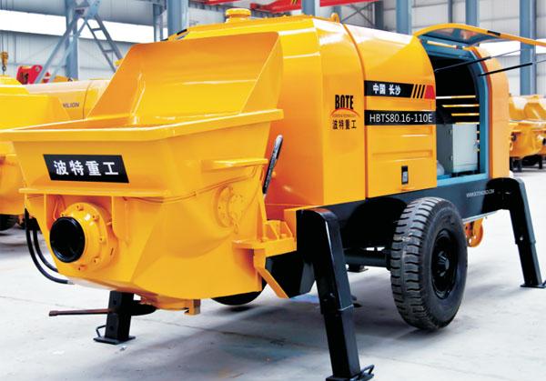 波特重工HBT电泵(力源主油泵)拖泵