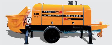 波特重工HBTS80.13柴油机力士乐系列拖泵