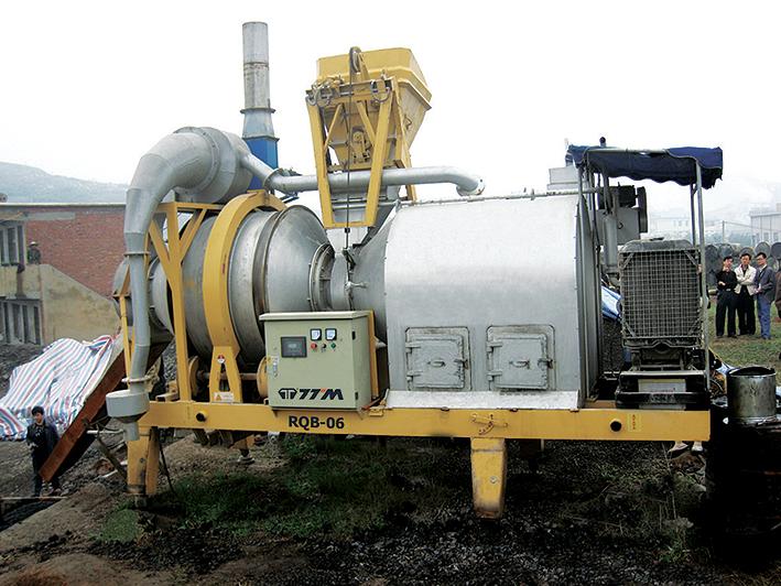 铁拓机械RQB-6沥青搅拌机