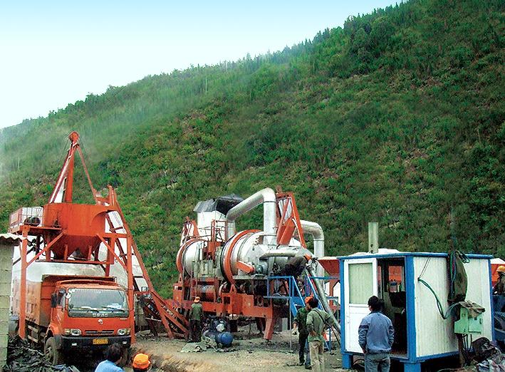 铁拓机械RQLB系列沥青拌合机