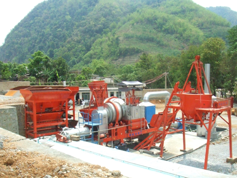 铁拓机械RQLB-20+10沥青再生设备