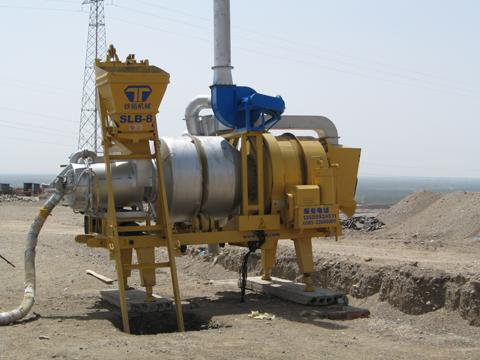 铁拓机械SLB-8沥青混合料搅拌设备