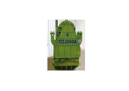 浙江振中DZJ240A可调偏心力矩振动桩锤