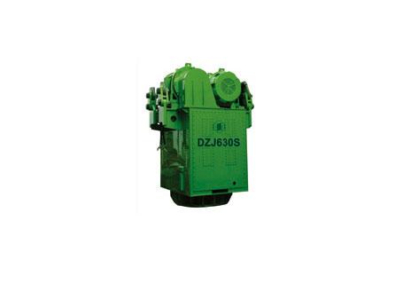 浙江振中DZJ630S可调偏心力矩振动桩锤