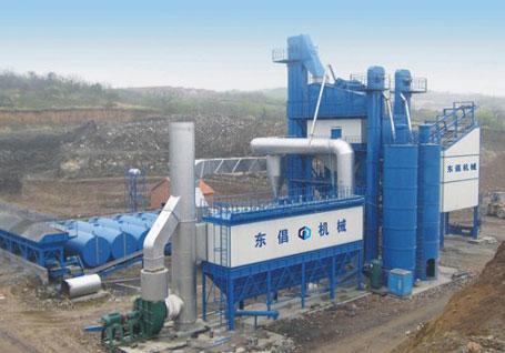 东倡机械QLB-4000沥青混合料搅拌设备
