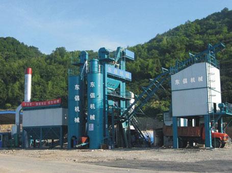 东倡机械QLB-2000沥青混合料搅拌设备