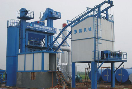 东倡机械QLB-1500沥青混合料搅拌设备