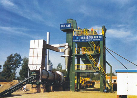 东倡机械LB500-800沥青混合料搅拌设备图片