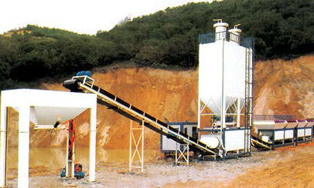 东倡机械CBW稳定土厂拌设备