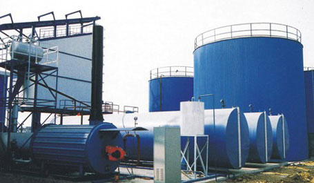 东倡机械DJY导热油沥青加热设备
