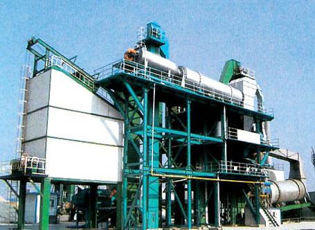 东倡机械沥青混合料热能再生搅拌设备图片
