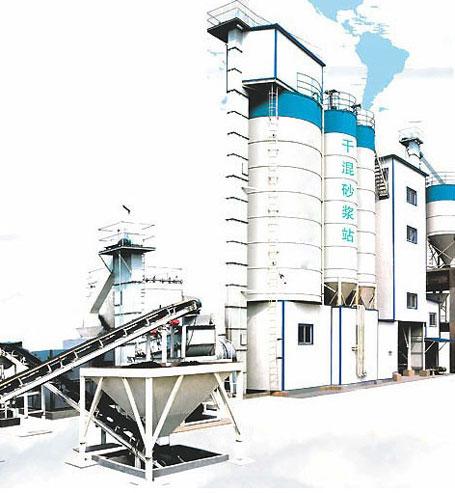 东倡机械TDSE20干粉砂浆生产设备图片