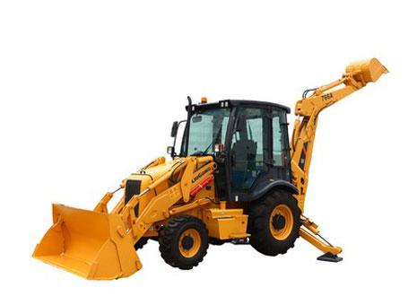 柳工CLG766A挖掘装载机