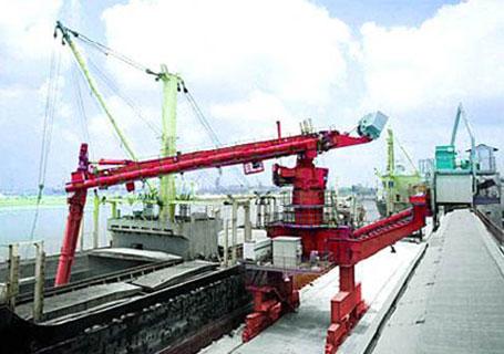 三一SXL-940-1000系列螺旋式连续卸船机