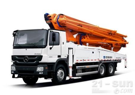 中联重科49X-6RZ(三桥)混凝土泵车