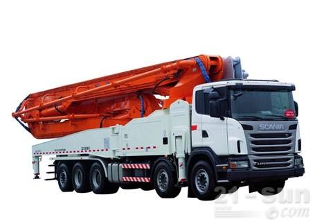 中联重科64X-6RZ(碳纤维)混凝土泵车