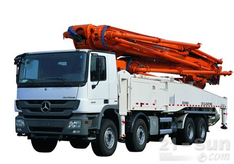 中联重科56X-6RZ混凝土泵车
