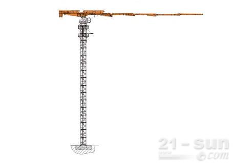 中联重科HG45T-5RZ塔式混凝土布料机