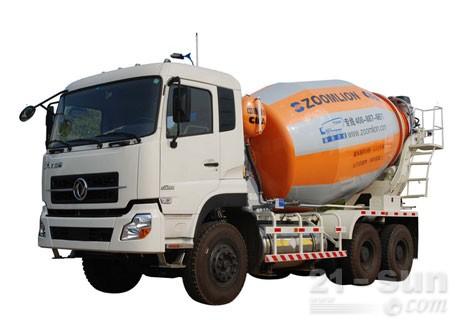 中联重科E系列(LNG三桥)混凝土搅拌运输车
