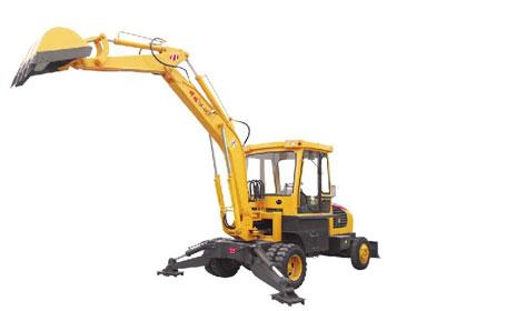 神娃机械SW-45C轮式挖掘机