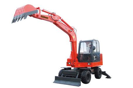神娃机械SW-60C轮式挖掘机