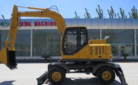 神娃机械SW-80轮式挖掘机
