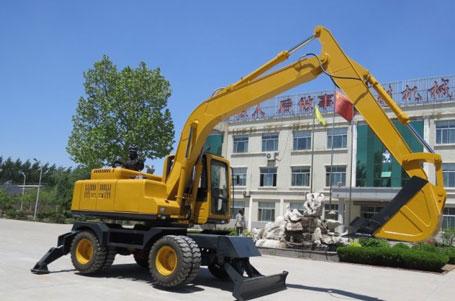 神娃机械SW-160轮式挖掘机