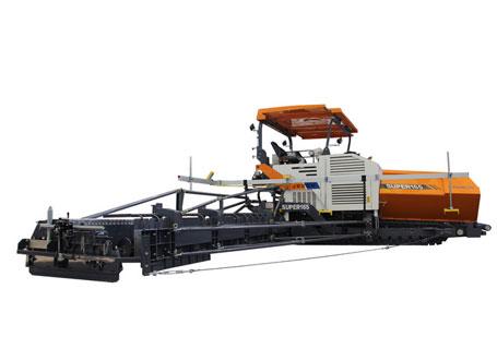 中联重科Super165履带式摊铺机