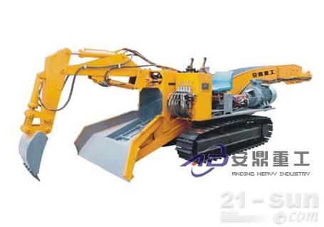 安鼎重工ADAW100履带防爆型扒渣机