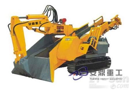 安鼎重工ADAW80履带防爆斜井专用型扒渣机