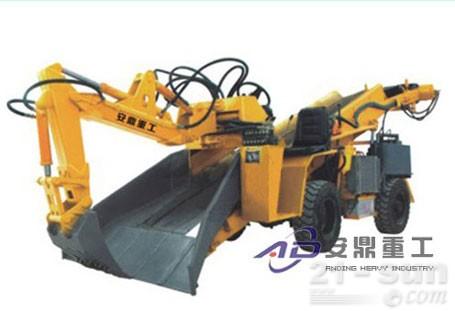 安鼎重工ADAW80全液压四驱防爆加强柴电两用型扒渣机