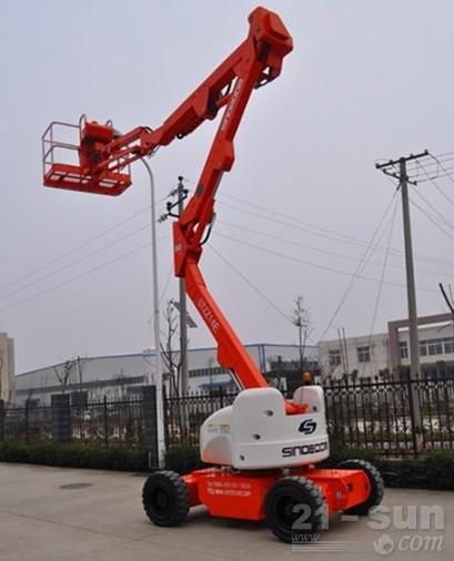 星邦重工14米电动曲臂式(GTZZ14E)高空作业车