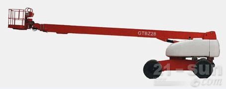 星邦重工28米直臂式(GTBZ28)高空作业平台