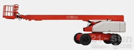 星邦重工25米直臂式(GTBZ25)高空作业平台