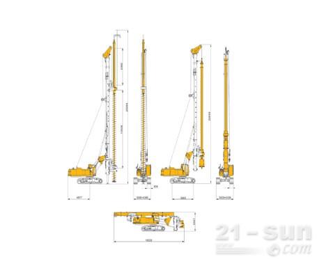 奥盛特重工OTR250D旋挖钻机
