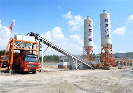 科友机械KW模块式稳定土厂拌设备