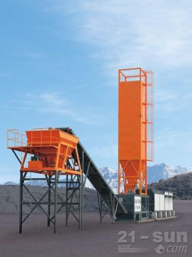 华通动力WBSC300稳定土厂拌设备图片