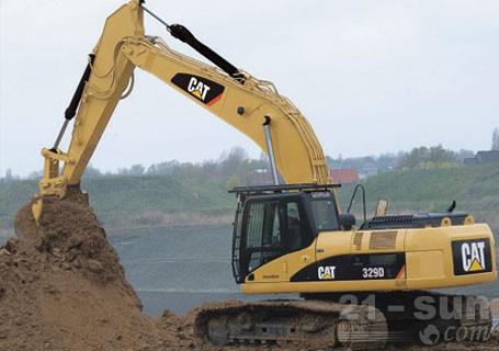 卡特彼勒329D/329DL液压挖掘机