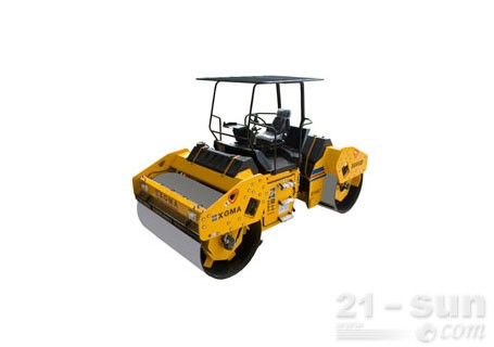 厦工XG612D双钢轮压路机