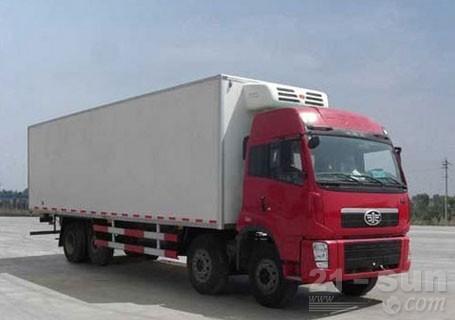青岛雅凯QYK5300XLC解放大威系列冷藏车