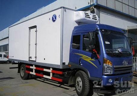 青岛雅凯QYK5160XLC解放赛龙系列冷藏车