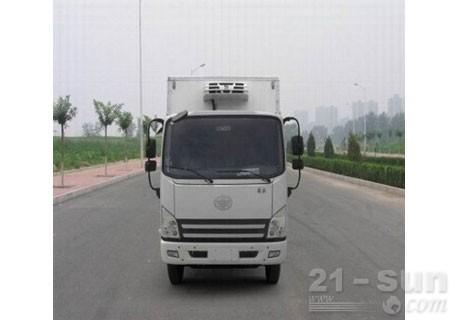青岛雅凯QYK5041XLC解放虎V4.2米货厢冷藏车