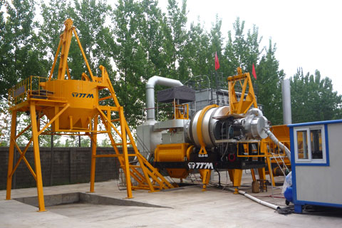 铁拓机械QLB-40沥青混合料搅拌设备