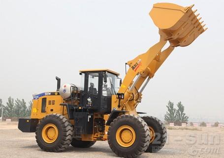 山工SEM650B LNG轮式装载机图片