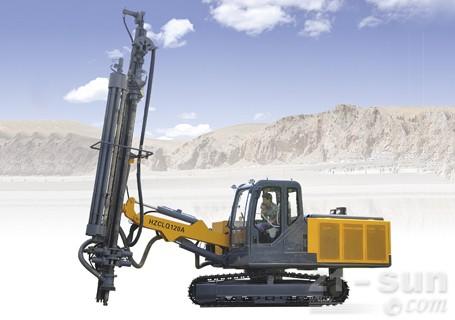 恒至凿岩HZCLY120A全液压露天凿岩钻车图片