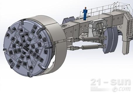 铁建重工TBM全断面硬岩隧道掘进机