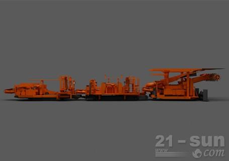 铁建重工ZJM4200护盾式连续掘锚机