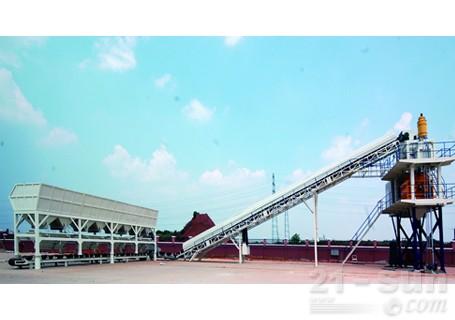 铁建重工HZS/G快装式混凝 土搅拌站