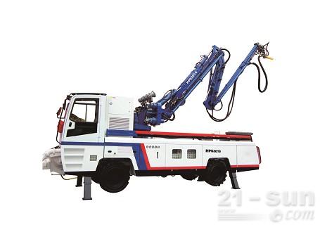 铁建重工HPS3016混凝土喷射台车