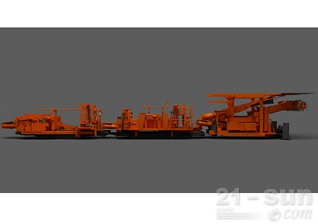 铁建重工掘锚机矿用特种装备